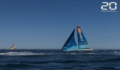 Vendée Globe : On a navigué sur LinkedOut, le voilier volant de Thomas Ruyant