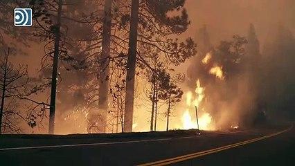 Los incendios de California arrasan la costa Oeste de Estados Unidos