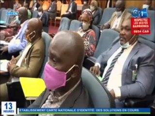 RTG - Audition du ministre d'état à l'intérieur qui revient sur les raisons de la suspension d'acquisition des CNI