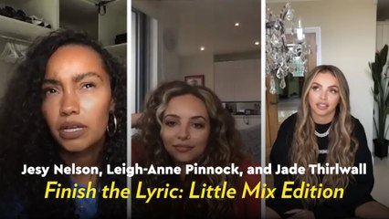 We Quizzed Little Mix to See How Well They Remember Their Own Lyrics, and We're Still Laughing