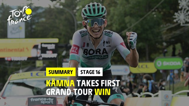 #TDF2020 - Stage 16 - Kämna takes his first grand tour win !