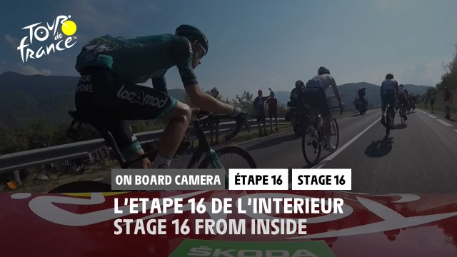 #TDF2020 - Étape 16 / Stage 16 - Daily Onboard Camera