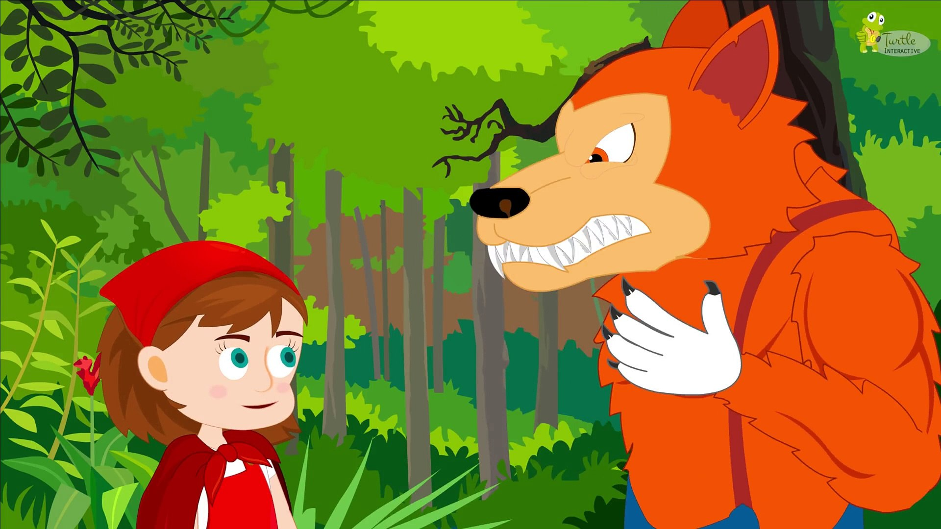 Little Red Riding Hood Kids Fairy Tale - Bedtime Story for Kids - Education Park