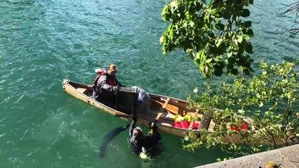 De nombreuses découvertes dans les eaux du Fleuve et du Canal