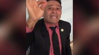Pastor Poroca diz que sua religião não permite usar mascará