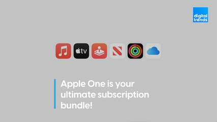 Apple One is your ultimate subscription bundle!