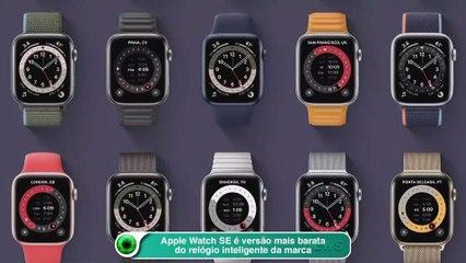 Apple Watch SE é versão mais barata do relógio inteligente da marca