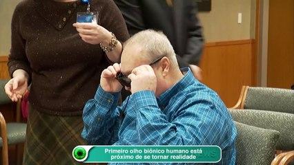 Primeiro olho biônico humano está próximo de se tornar realidade