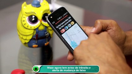 Waze agora tem aviso de trânsito e alerta de mudança de faixa