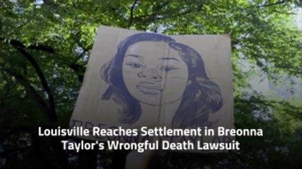Louisville Settles In Breonna Taylor's Lawsuit