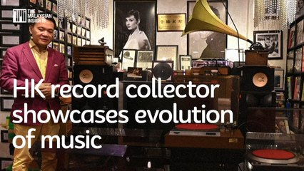 Hong Kong record collector showcases evolution of music