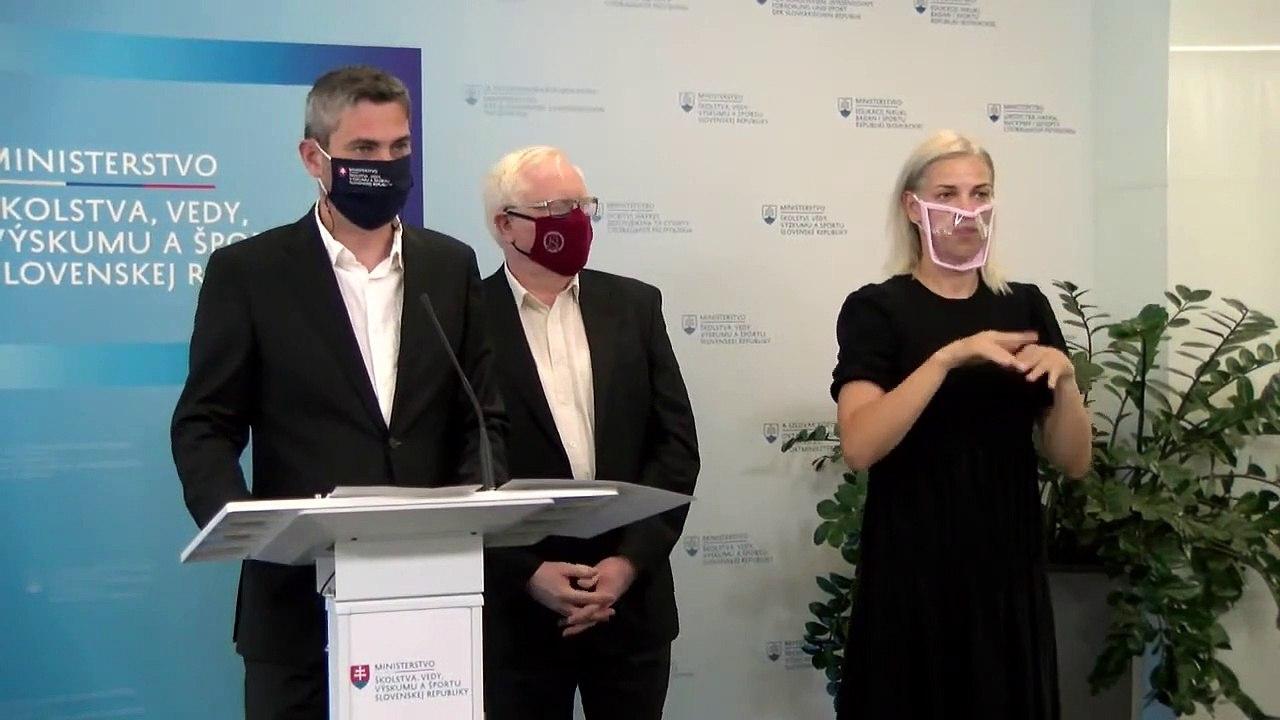ZÁZNAM: TK štátneho tajomníka Ministerstva školstva, vedy, výskumu a športu SR Ľudovíta Paulisa