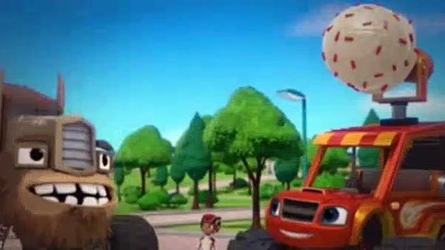 Blaze and the Monster Machines Season 5 Episode 10 Ice Cream Monster Machine