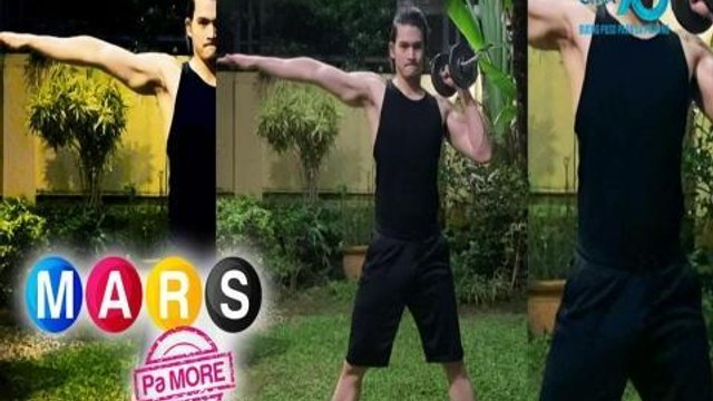 Mars Pa More: Light dumbell workout routine with Gil Cuerva | Push Mo Mars