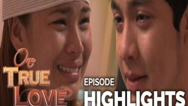 One True Love: Elize and Tisoy's emotional goodbye   Episode 28