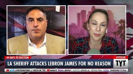 Sheriff Challenges LeBron James