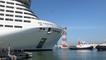 Au port, le paquebot MSC Virtuosa a quitté le quai du bassin de Penhoët