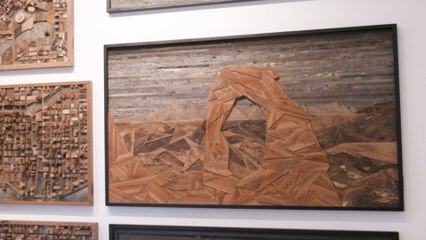 Beautiful Things: Watch Craig Forget Create One of a Kind Artwork from Reclaimed Wood