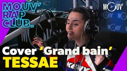 """TESSAE : Cover Dadju ft. Ninho  """"Grand bain"""" (Live @Mouv' Rap Club)"""