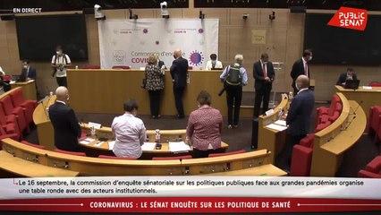 Coronavirus : le Sénat entend les acteurs institutionnels - En séance (16/09/2020)