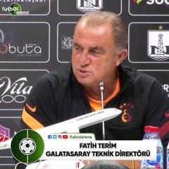 """Fatih Terim: """"Galatasaray, Avrupa yolculuklarına alışık bir takım"""""""