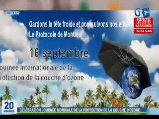 RTG / Célébration de la 35ème journée mondiale de la protection de la couche d'ozone au Gabon