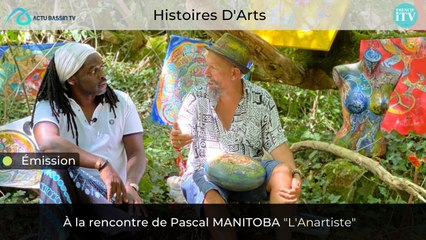 Histoires D'Arts : Avec Pascal MANITOBA l'anartiste