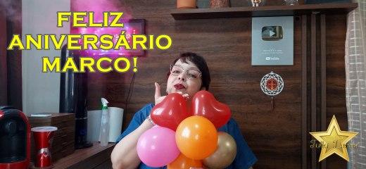 VÍDEO DE ANIVERSÁRIO MARCO!