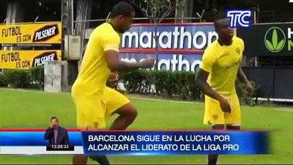 Barcelona SC continúa en la lucha por alcanzar el liderato en la Liga Pro