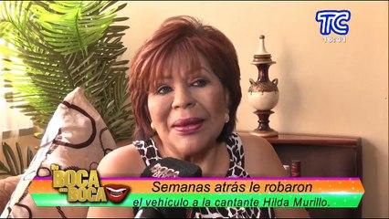 La cantante Hilda Murillo recuperó su carro robado