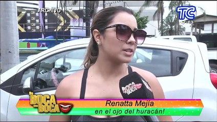 Renata Mejía en el ojo del huracán: la chica reality terminó su noviazgo con el futbolista