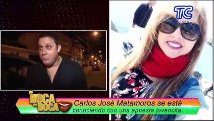 ¿Carlos José Matamoros se volvió a enamorar?
