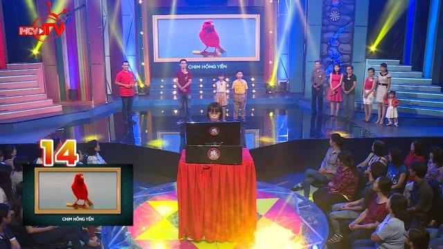 Ba em bé xuất sắc giành chiến thắng với phần thi trí nhớ trên gameshow Gia Đình Tài Tử.