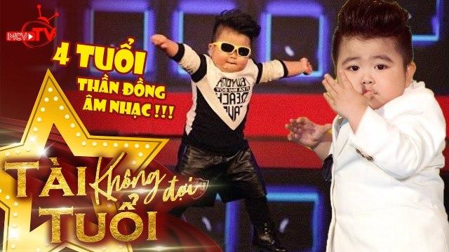 TIN TIN -  Thần đồng âm nhạc Việt Nam quẩy tưng bừng khói lửa khi mới có 4 tuổi