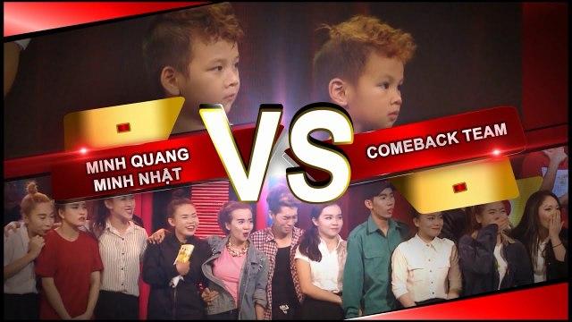 Hai anh em ruột 4 tuổi tranh chức vô địch cùng Come Back Team | Bạn Có Thực Tài? 2016.