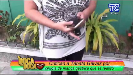 ¡Contundente! Tábata Gálvez responde a sus detractores por  haberse hecho la manga gástrica