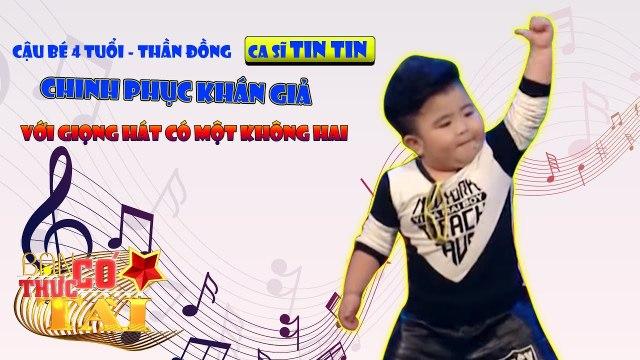 Cậu bé 4 tuổi - thần đồng ca sĩ Tin Tin chinh phục khán giả với giọng hát có một không hai.