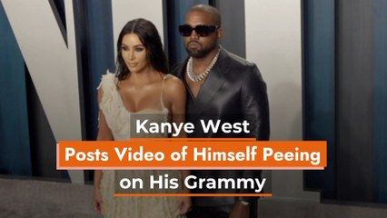 Kanye West Does Not Care About His Grammy