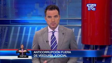Comisión Nacional Anticorrupción  fuera de Veeduría Judicial ante supuesta falta de información apropiada