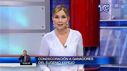 Presidente Lenín Moreno destacó a ganadores del Premio Eugenio Espejo