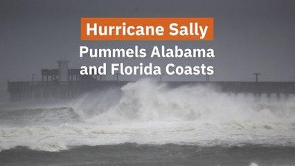 Hurricane Sally Hits