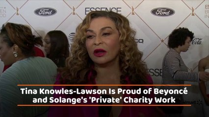 Tina Knowles-Lawson Is A Proud Mom