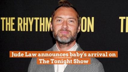 Jude Law Has A Baby
