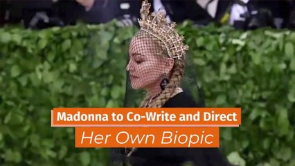 Madonna Will Make Her Own Biopic