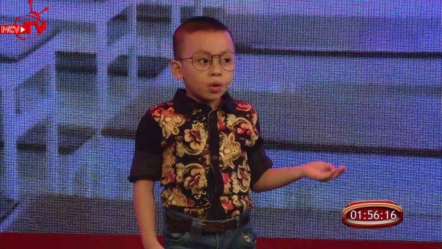 Thần đồng 5 tuổi AN KHANG - Tiết mục hài | BẠN CÓ THỰC TÀI - Mùa 3 | Tập 8