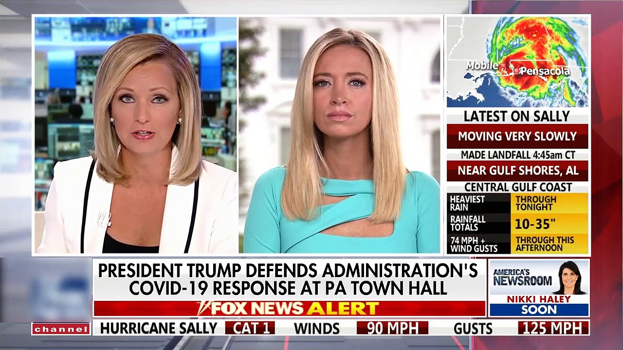 #NEWS| McEnany explains Trump's claim that coronavirus will 'disappear'