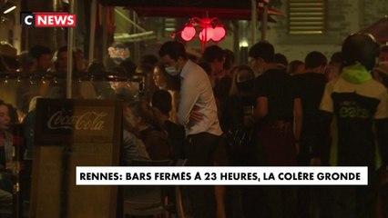 Rennes : bars fermés à 23 heures, la colère gronde