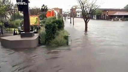 Inondations catastrophiques après le passage de Sally sur le sud-est des Etats-Unis
