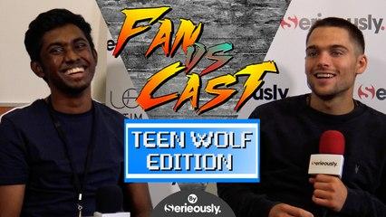 DYLAN SPRAYBERRY contre un fan dans un QUIZ TEEN WOLF