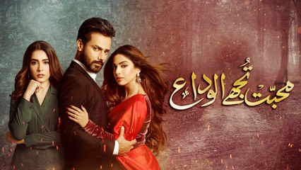 Mohabbat Tujhe Alvida Episode 15 Promo HUM TV Drama